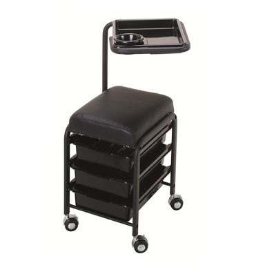 Pablo Manicure Pedicure Utility Cart - Garfield Commercial Enterprises Salon Equipment Spa Furniture Barber Chair Luxury