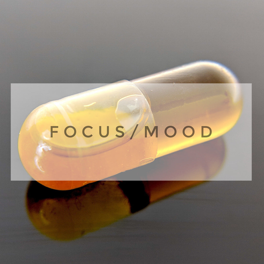 SMARTFOCUS - CBD capsules for Enhanced Focus, Mood and Endurance