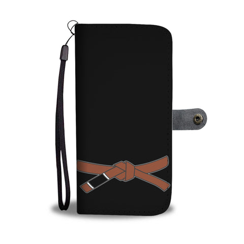 Brown Belt Phonecase Wallet