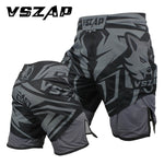 VSZAP Fight Shorts Grey