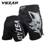 VSZAP FIght Shorts Black