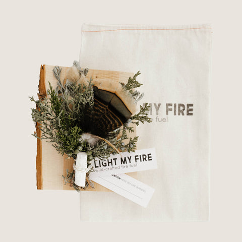 Light My Fire - White Selenite