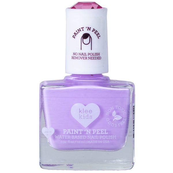 Water-Based Peelable Nail Polish- Purple
