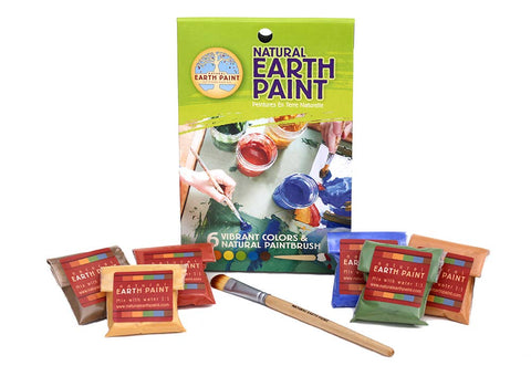 Natural Earth Paint - Petite Natural Earth Paint Kit