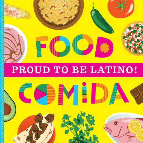 Proud to Be Latino: (Bilingual Board Book)