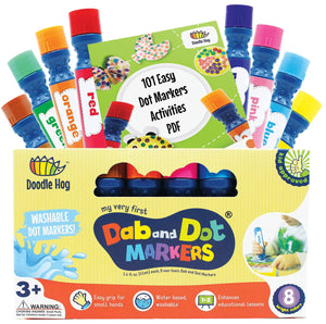 Dab and Dot Markers (Set of 8)