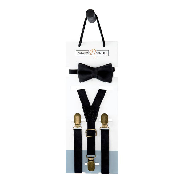 Bow Tie Set- Black