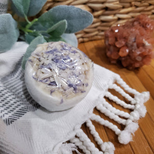Bulgarian Lavender Essential Oil Bath Bomb