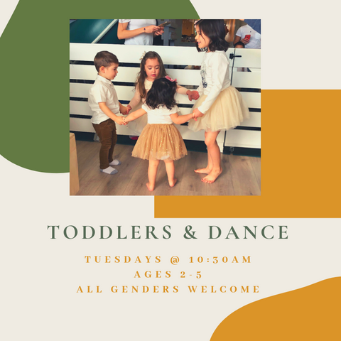 Toddlers & Dance (Tuesdays)