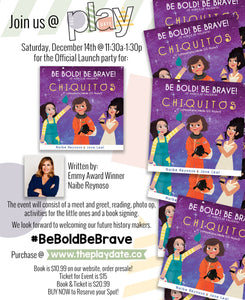 Be Bold! Be Brave! PRESALE BOOK & Launch Party TICKET (Bundle)