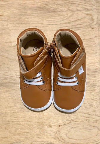 Brown Hightop (size 4 & 5)