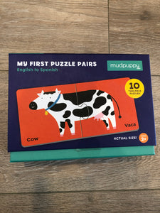 English to Spanish My First Puzzle Pairs