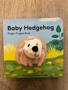 Baby Hedgehog Finger Puppet Book