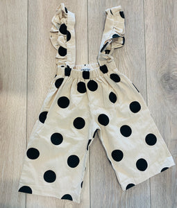 French Riviera Black Polka Dot Jumpsuit