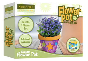 Flower Pot Casting Kit