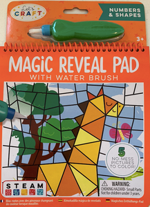 Magic Reveal Pads - Numbers & Shapes