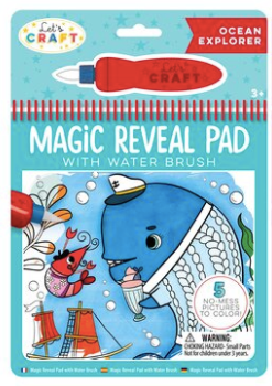 Magic Reveal Pads - Whale