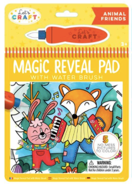 Magic Reveal Pads - Animals