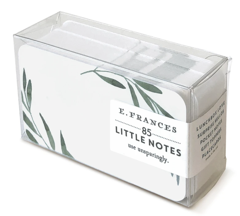 Little Notes by E. Frances