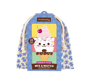 Ice Cream Cats Mix & Match Puzzle to Go