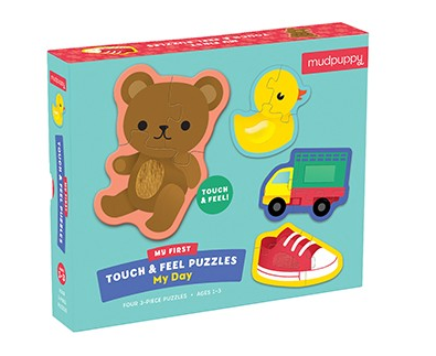 My Day My First Touch & Feel Puzzle