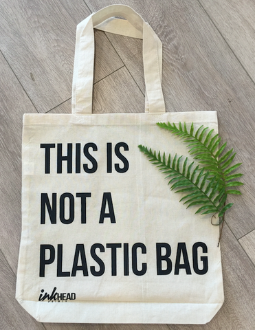 Tote - This is Not A Plastic Bag