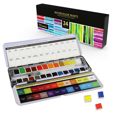 Watercolor Paints (24 Pack)