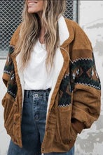 Load image into Gallery viewer, Women's Fashion Retro Patchwork Print Jacket