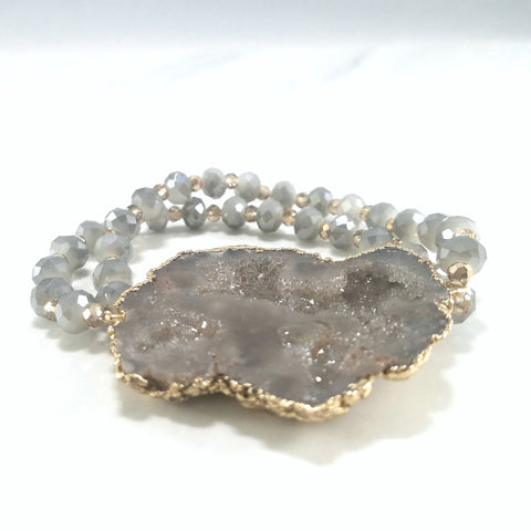 Dolly Iconic Bracelet - Gray