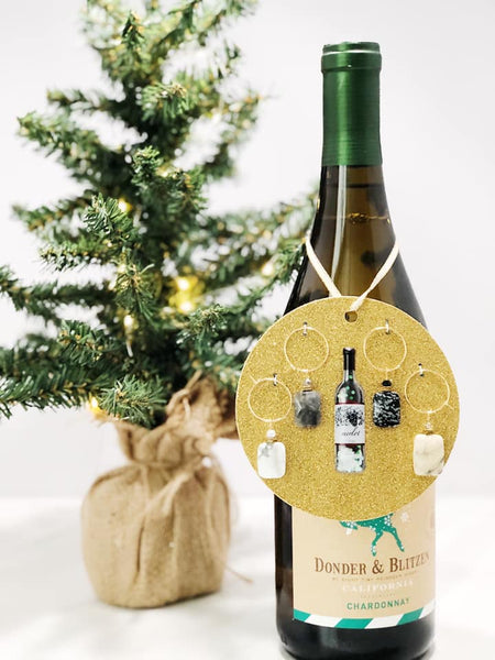 Handcrafted Wine Charms