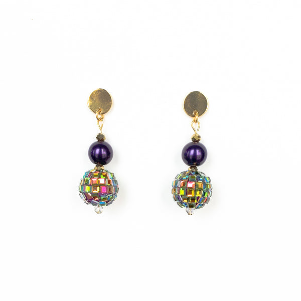 Mardi Party Earrings