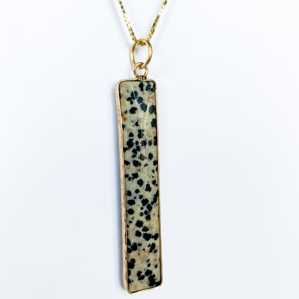 Lea - Dalmatian Jasper Necklace