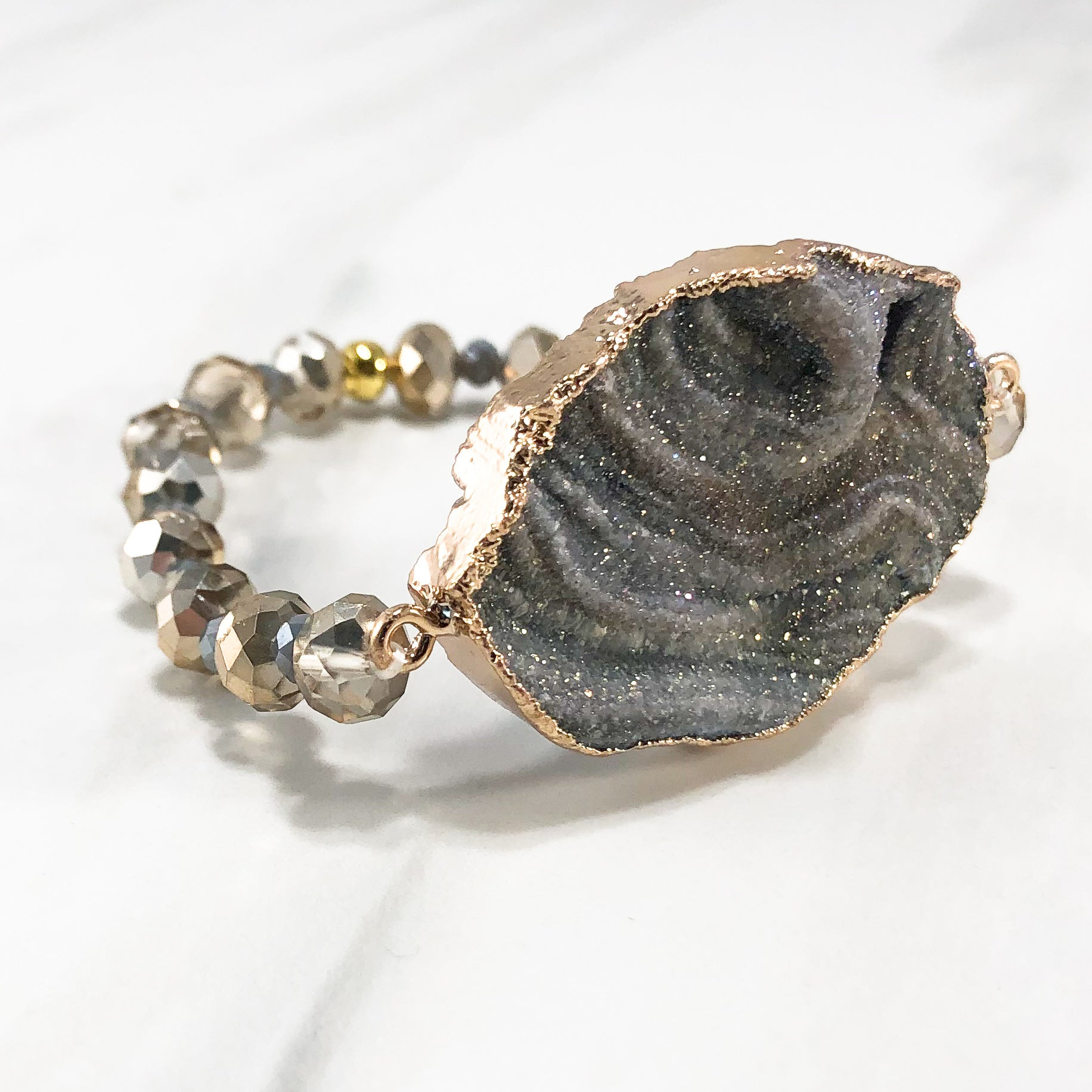 LaCouture Limited Edition Druzy Bracelet