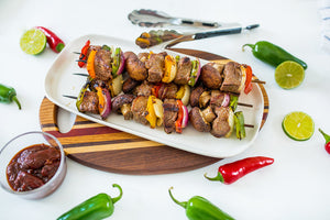 Chipotle Lime Top Sirloin Kabobs