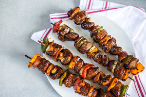 Sweet Honey BBQ Top Sirloin Kabobs