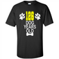 126 Dog Years Old 18th Birthday 18 Year Old Gift Merch Tee - T-Shirt