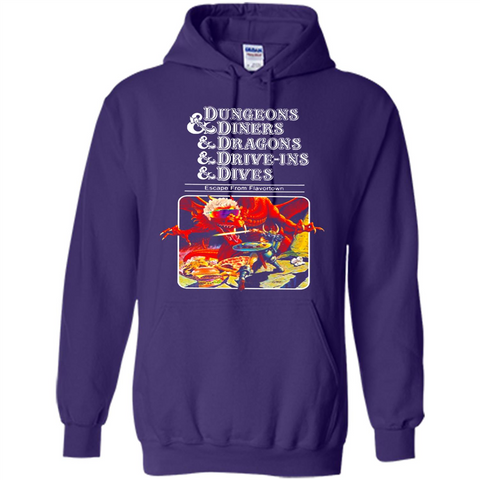 Dungeons And Diners And Dragons And Drive Ins And Dives Walmart Tee