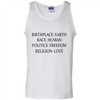 Image of Birthplace Earth Race Human Politics Freedom Religion Love Walmart Tee