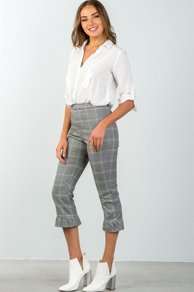AGGY high waist culottes pants