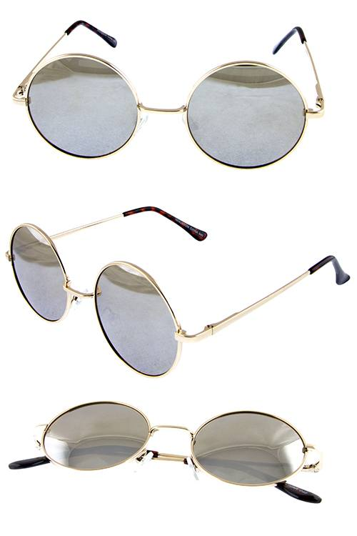 SONIA hipster dapper round circle shaped sunglasses