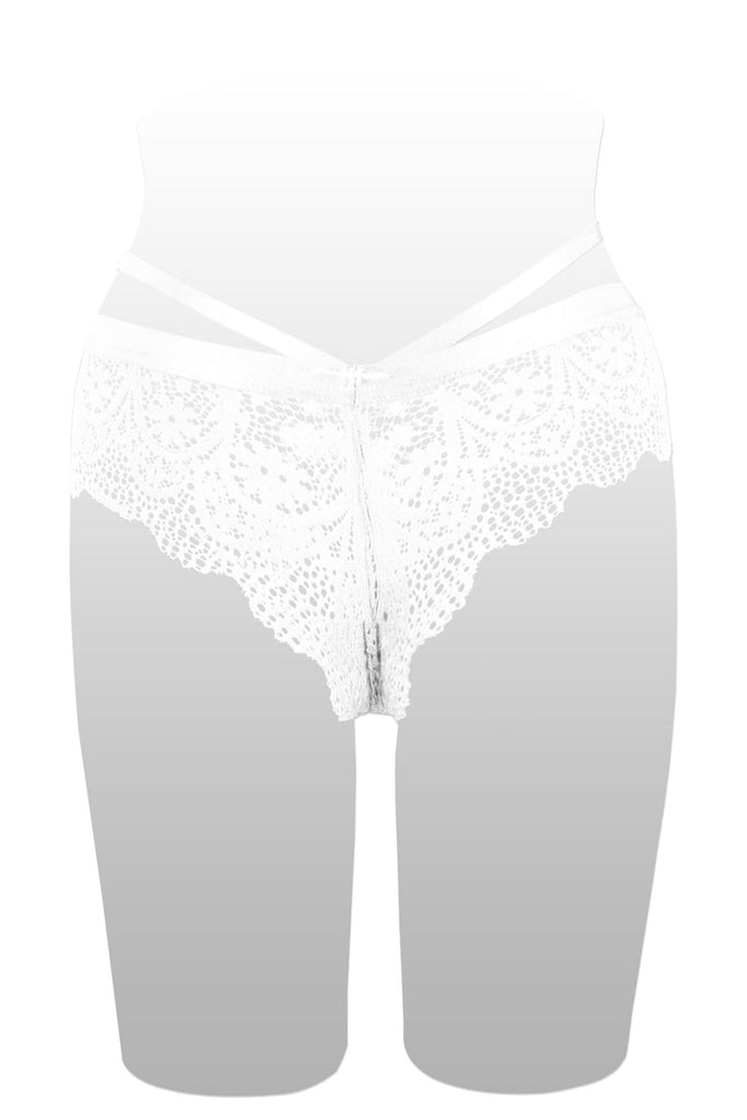 Ladies floral lace hipster