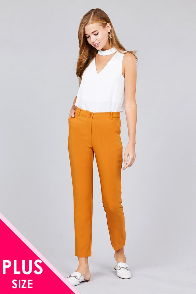 VIVA seam side pocket classic long pants
