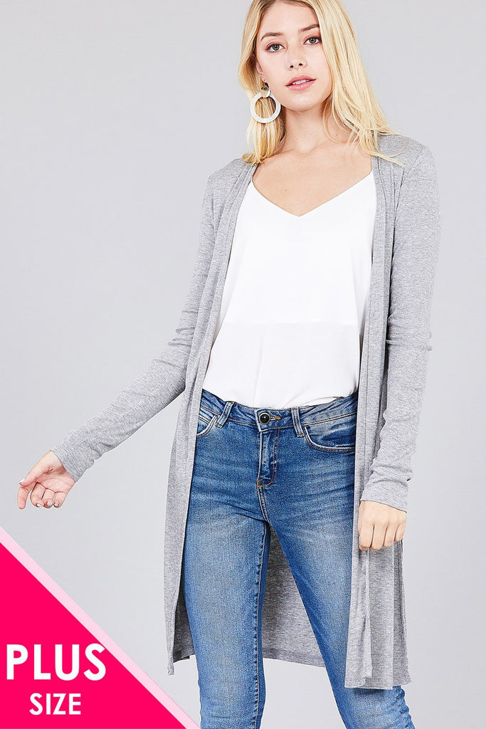 BEL Long sleeve open cardigan
