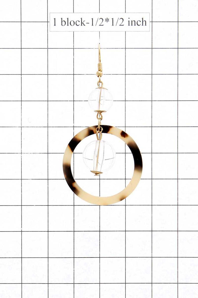 LUAM Acetate drop earring
