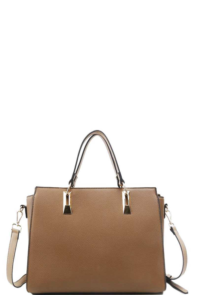 SARAH Chic Stylish Satchel With Long Strap