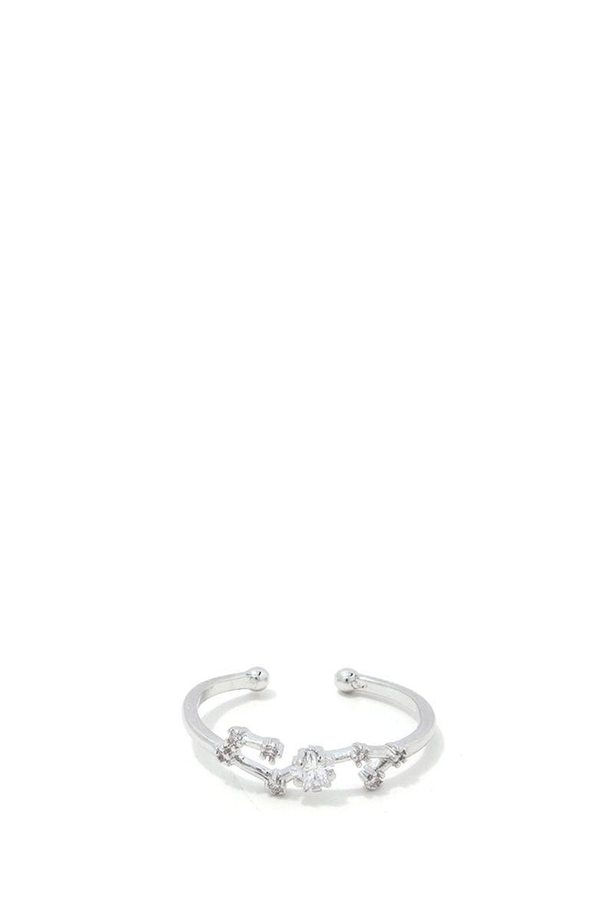 Scorpio Constellation Star Ring