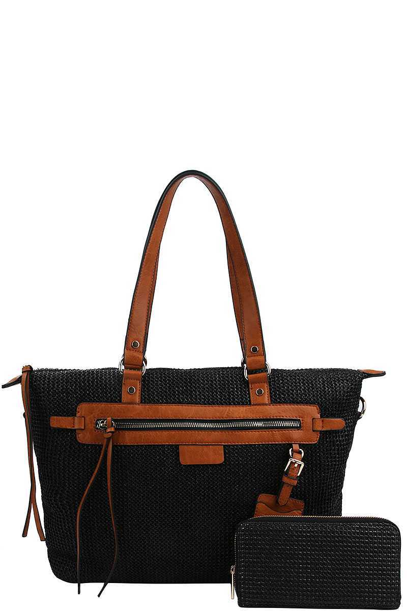 EMMA 2 in 1 Satchel bag With Matching Wallet