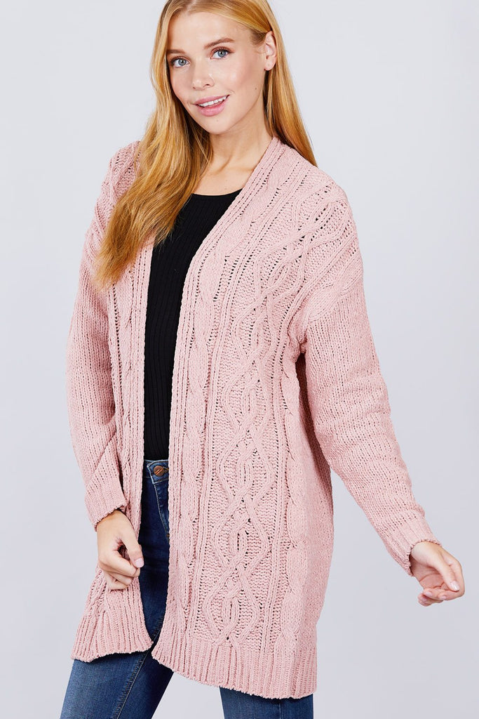 Chenille Sweater Cardigan