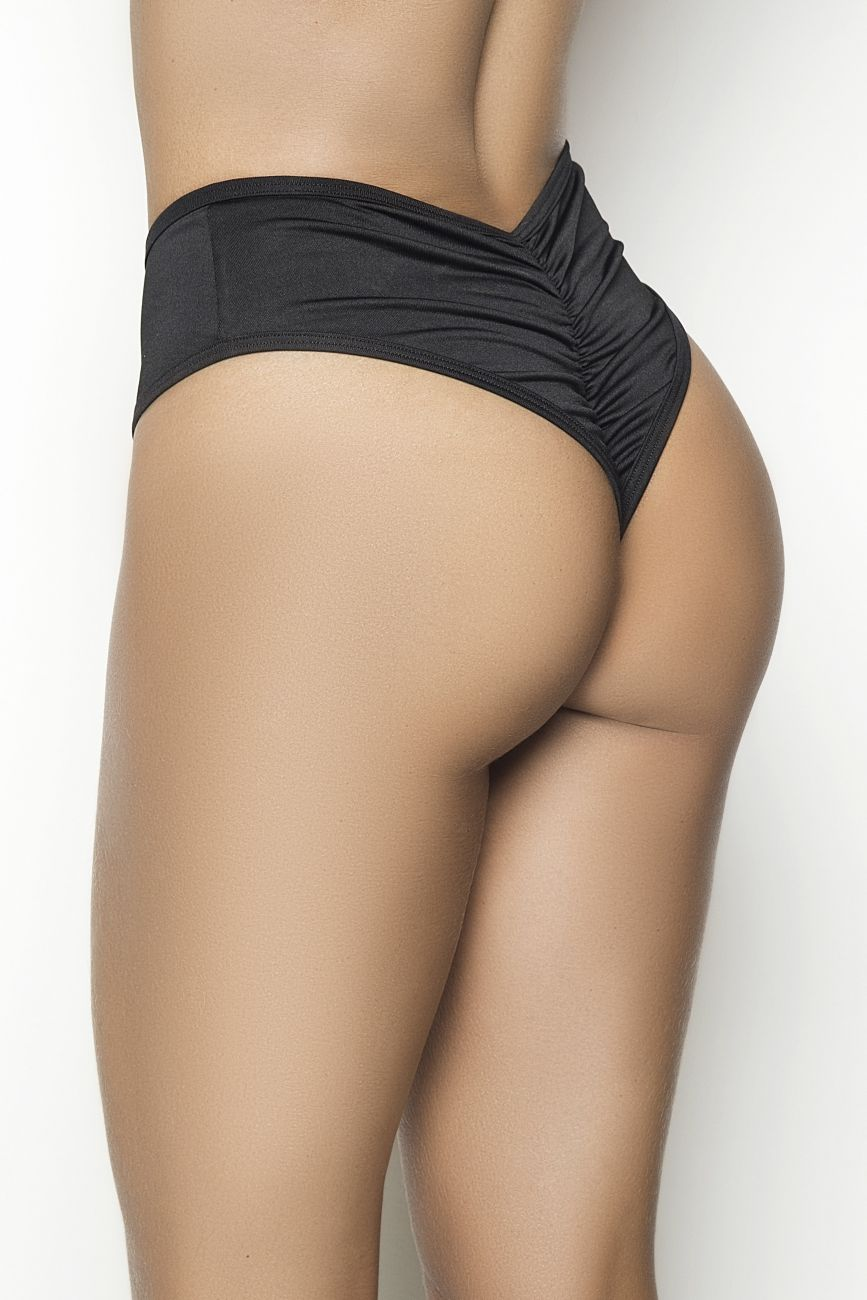 CINDY  High Waist Ruched Back Panty