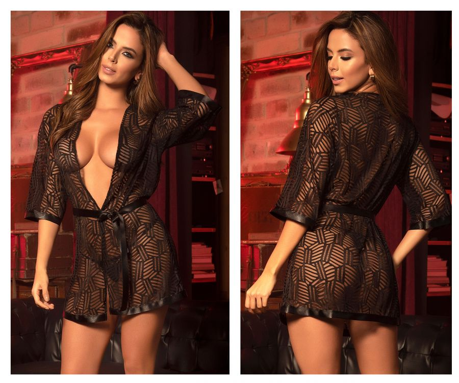 Robe with Matching G-String